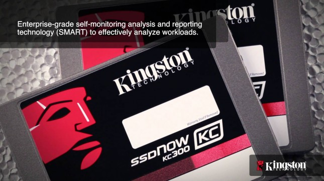 Kingston SSDNow KC300 SSD Series Released For Business Users