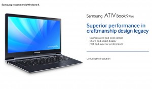 Samsung Announces U.S. Launch of ATIV Book 9 Plus and ATIV ...