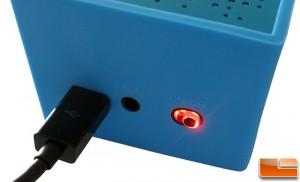AMP SP1 Power Button