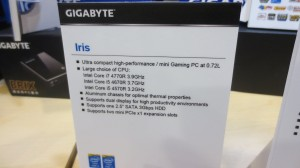GIGABYTE BRIX Gaming Series With Iris Pro Graphics