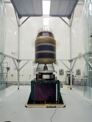 LADEE_spin_test