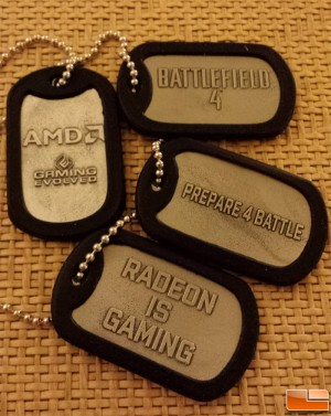 AMD Battlefield 4 Dog Tags
