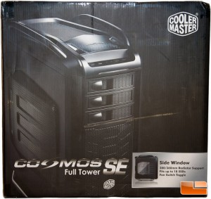 Cooler Master Cosmos SE Box Front