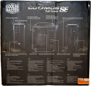 Cooler Master Cosmos SE Box Rear