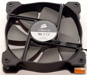 Corsair H100i Fan Details