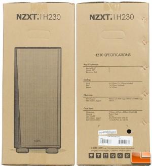 H230 Box Sides
