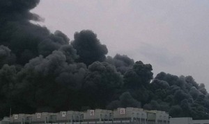 The Hynix factory fire