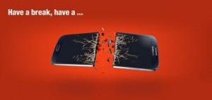 Samsung Galaxy KitKat Spoof
