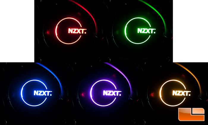 NZXT Kraken Pump LED Colors