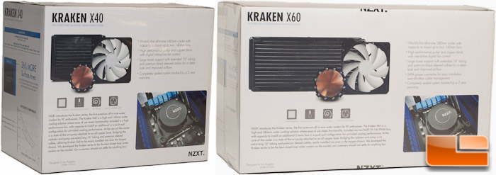 NZXT Kraken Package Rear