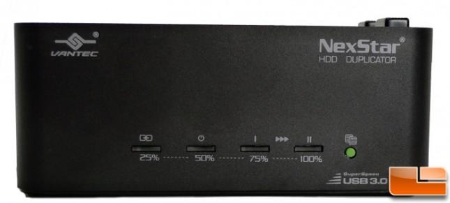 Vantec NexStar HDD Duplicator Front