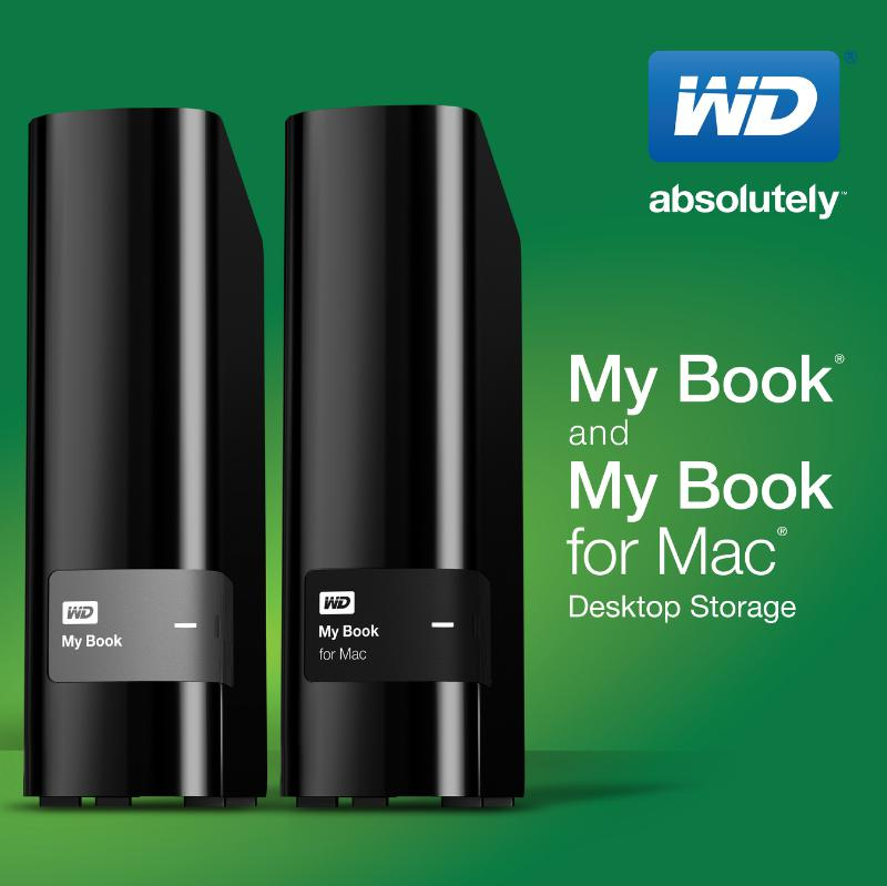 wd releases redesigned my book product line of external