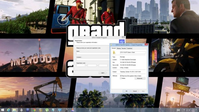 GTAV PC Torrent Crack