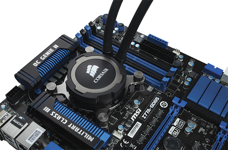 Corsair Announces Hydro Series H75 Liquid Cpu Cooler