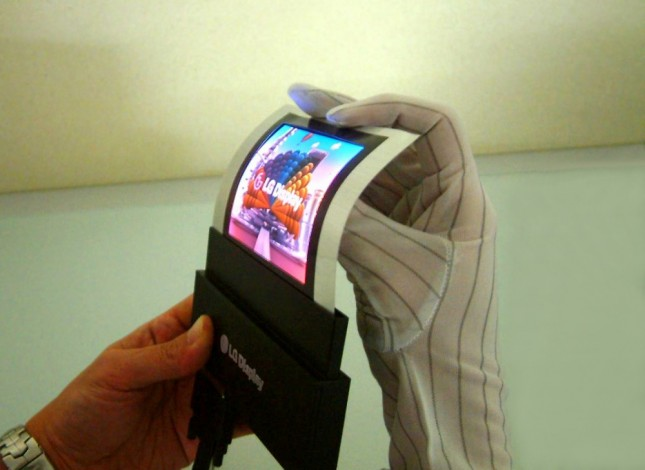 LG 4-inch Flexible a-Si AMOLED