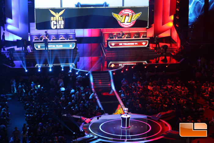 Witnessing The League Of Legends Season 3 World Championship