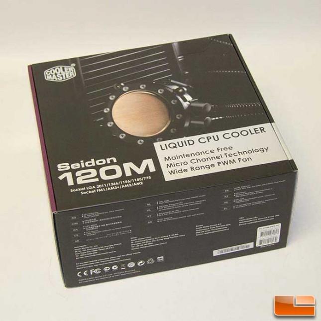 Cooler Master Seidon 120M Box