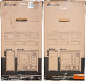 Corsair Obsidian 750D Box Sides