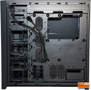 Corsair Obsidian 750D Motherboard Tray Rear