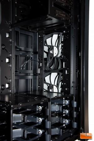 Corsair Obsidian 750D Interior Front