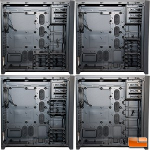 Corsair Obsidian 750D Several HDD Bay Configurations