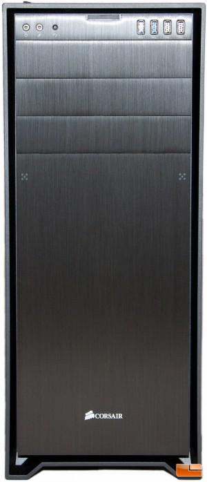 Corsair Obsidian 750D Front
