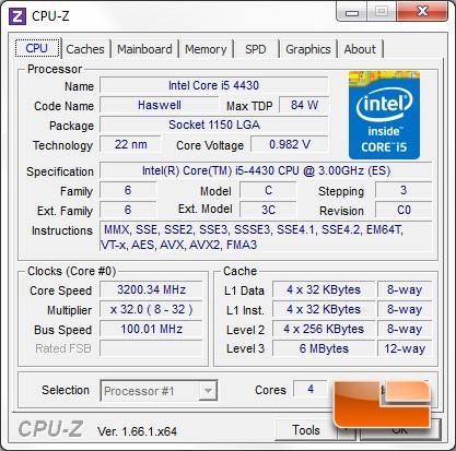 Alienware X51 R2 i5-4430 CPUz