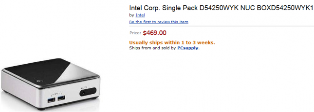haswell nuc preorder