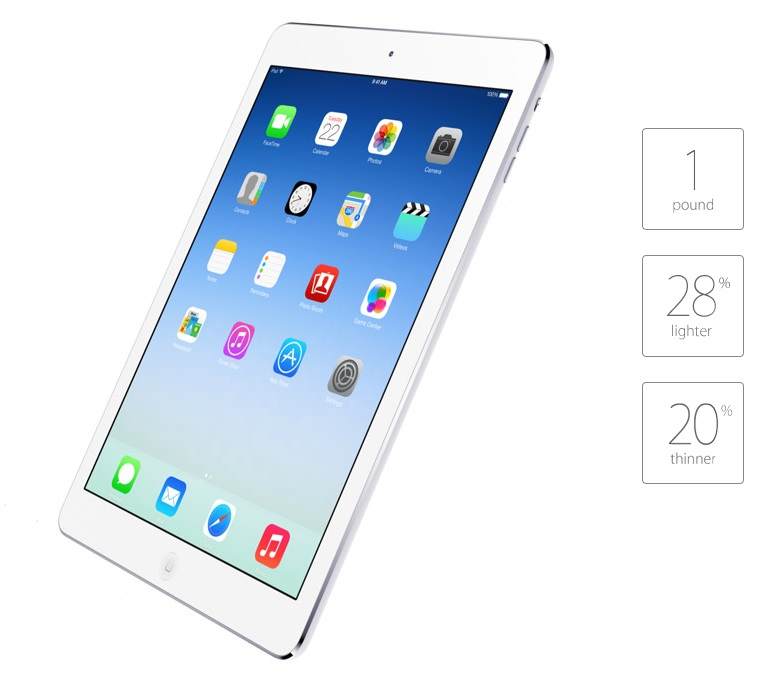 Apple Announces iPad Air Tablet