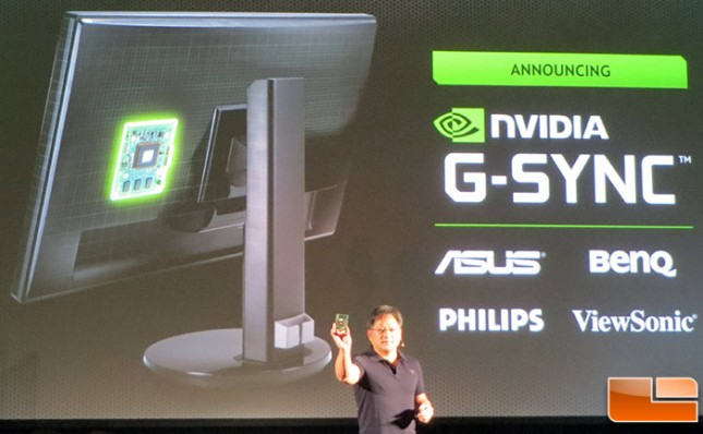NVIDIA Announces G-Sync, GameStream, Twitch Streaming