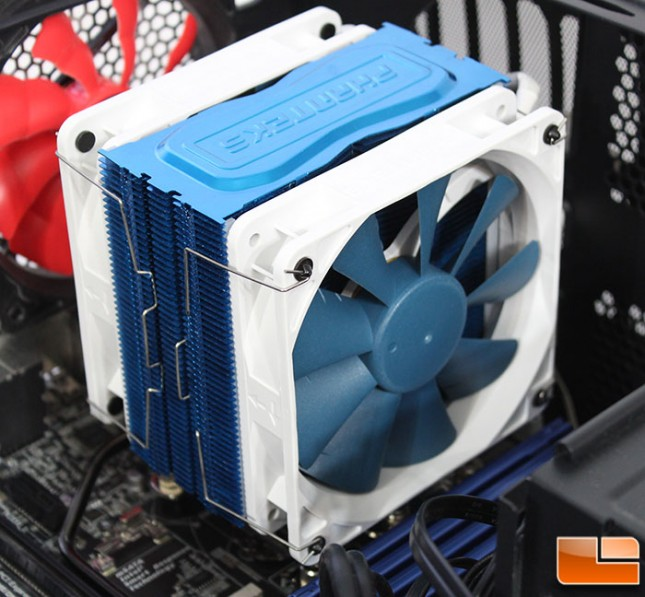 TC12DX Fan Installation
