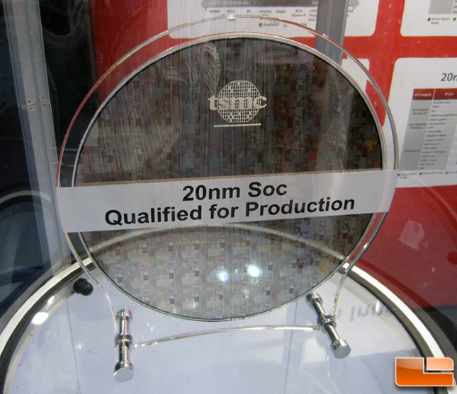 TSMC 20nm Wafer