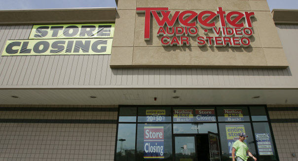 Tweeter Store Closing