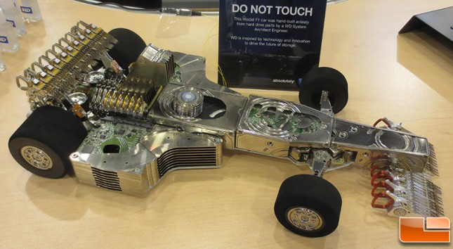 250 Hard Drives Used To Make One Epic F1 Car Legit Reviews