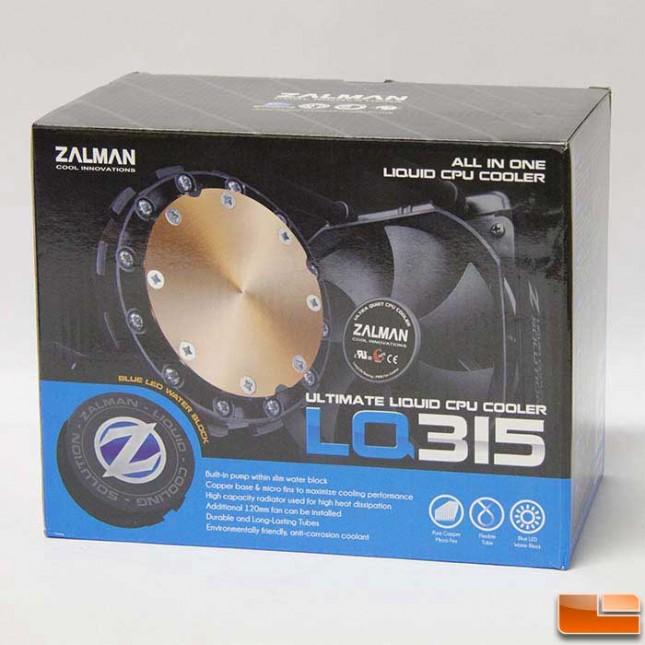 Zalman LQ315 box