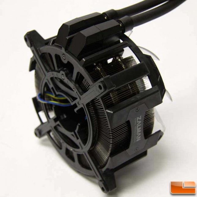 Zalman Reserator 3 MAX back of radiator