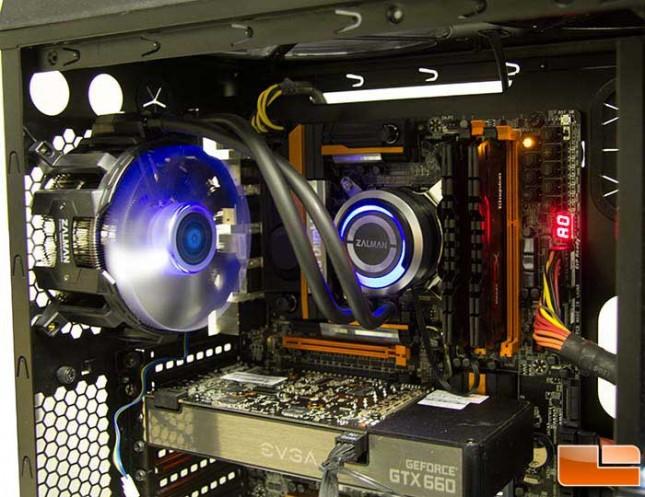 Zalman Reserator 3 MAX installed
