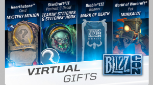 BlizzCon Virtual Gifts