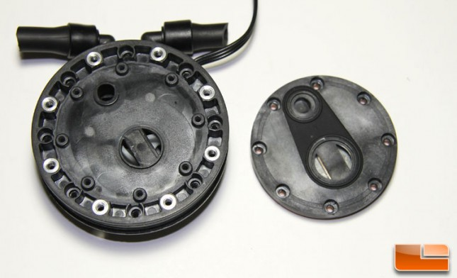 Zalman Pump housing lower and mid-section
