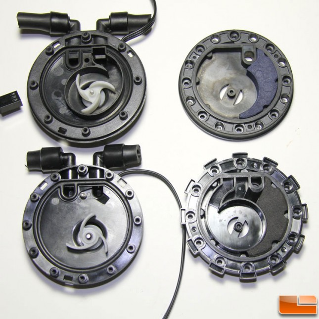 Zalman impeller cavities compared