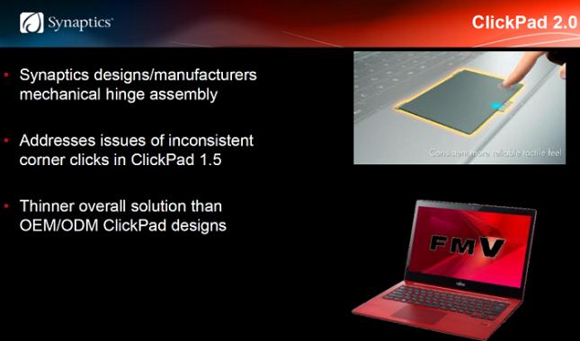 Synaptics ClickPad 2.0