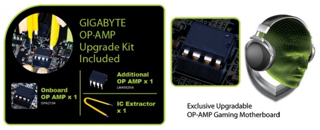 GIGABYTE Amp-Up Audio