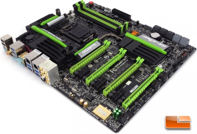 GIGABYTE G1.Sniper 5 Intel Z87 Motherboard Layout