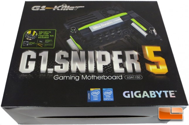 GIGABYTE G1.Killer Sniper 5 Retail Packaging