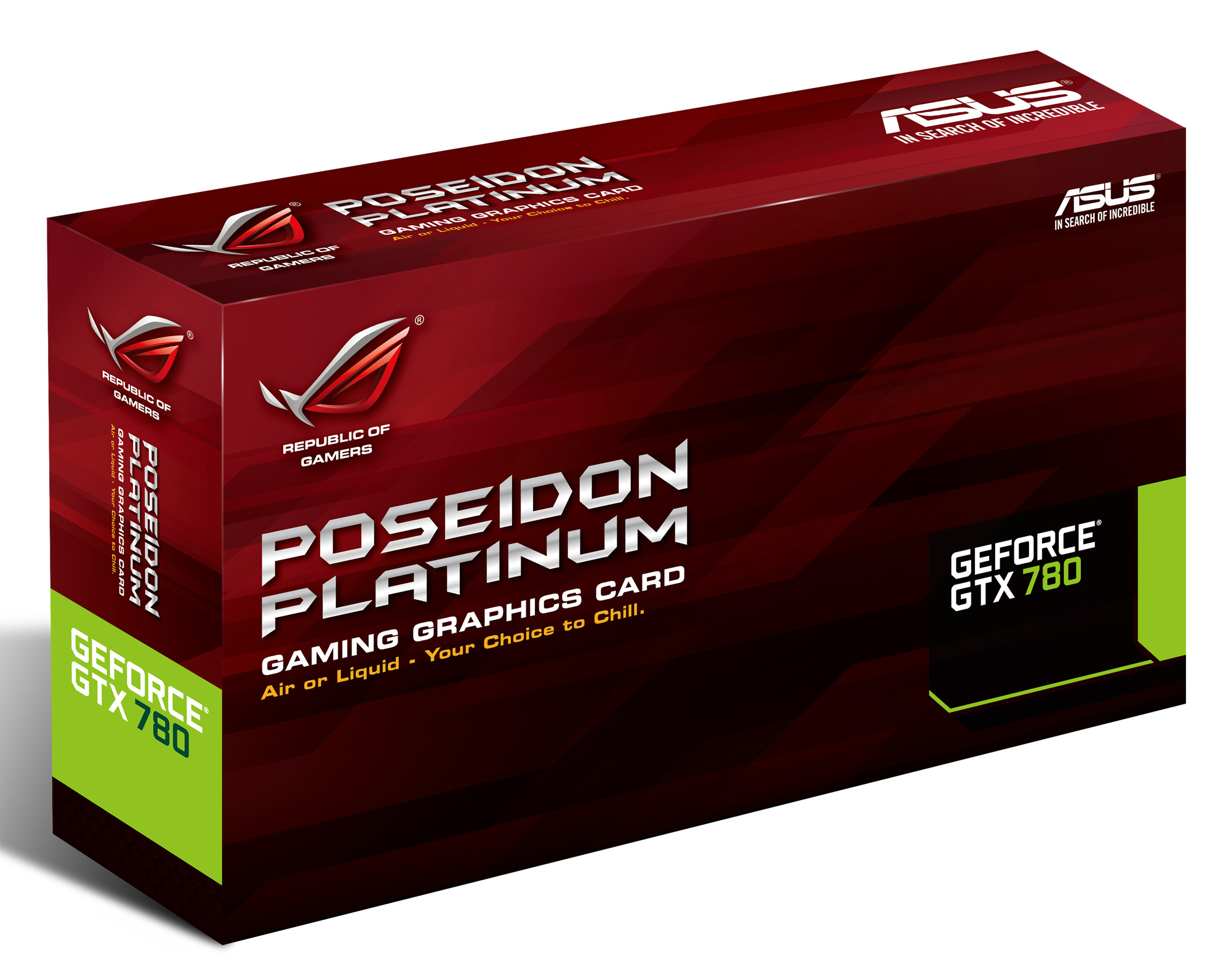 Asus Rog Poseidon Hybrid Cooled Gtx780 Graphics Card Re Doovi - Asus rog announces poseidon gtx 780 graphics card