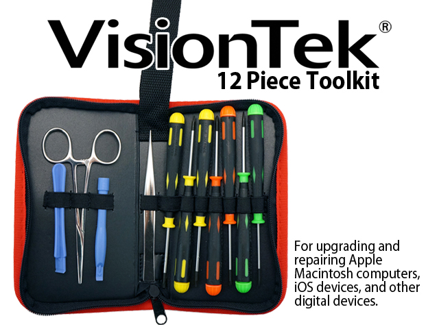 VisionTek 12 Piece Toolkit