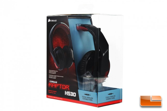 Corsair Raptor HS30 and HS40