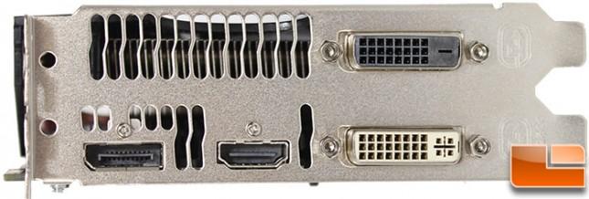 Sapphire R7 260X Connectors