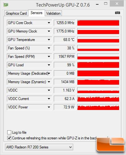 Sapphire R7 260X GPU-Z OC