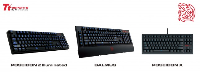Tt eSPORTS Gaming Keyboards